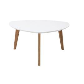 achat table basse design blanche pas
