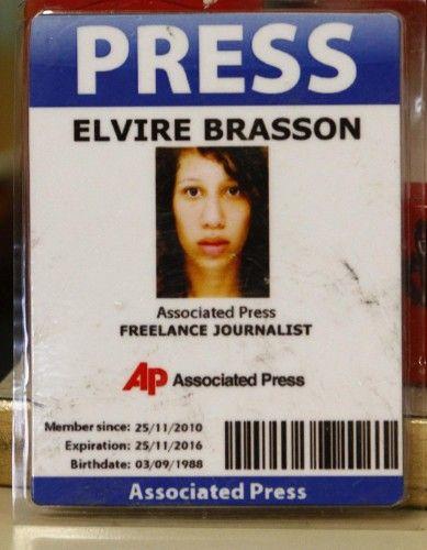Femen Elvire Brasson Associated Press