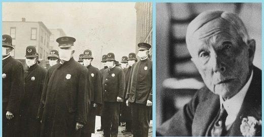 SOTT FOCUS: Le psychopathe Rockefeller est-il à l'origine de la pandémie de « grippe espagnole » de 1918 ?