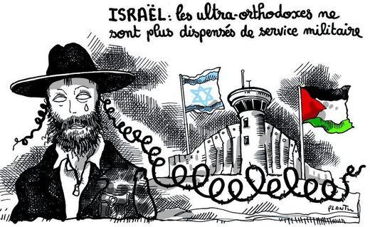 Dessin de Plantu, Israël