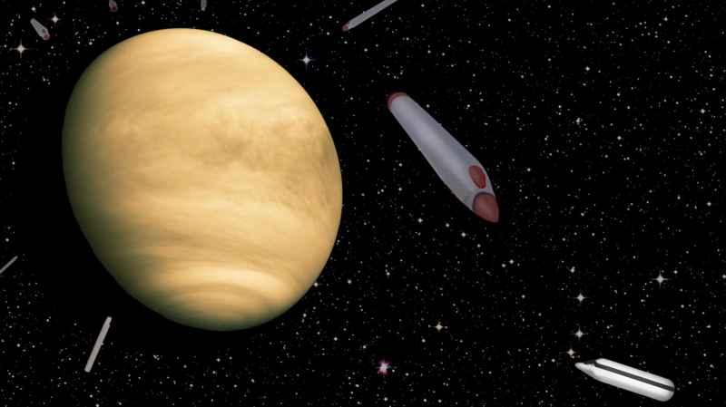 3 Venus And Ships