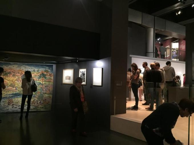 Expo à l'Institut du monde Arabe de Paris