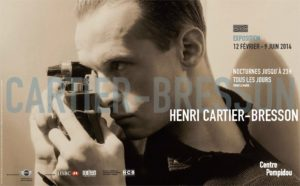 Exposition Henri Cartier Bresson Paris