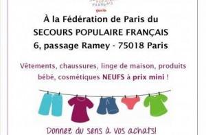 Braderies Solidaire du Secours Populaire