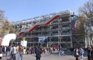Le Centre Pompidou - Beaubourg