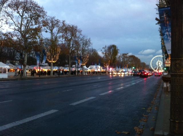 Marché de noel 2014 - 2015 Champs Elysées