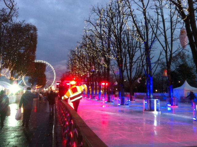 Patinoir des Champs Elysées