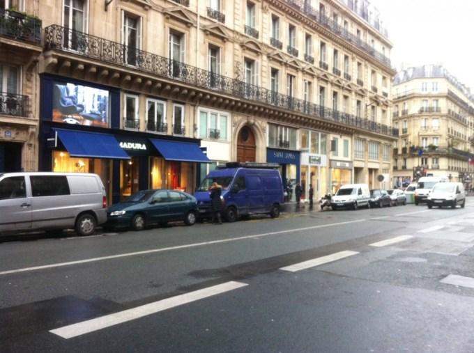Boutiques rue de Rennes