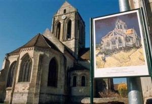 Église d'Auvers-sur-Oise et Van Gogh