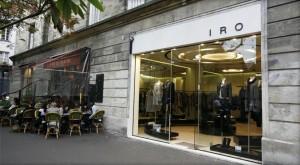 Boutique Iro rue Vieille du Temple -Marais- Paris