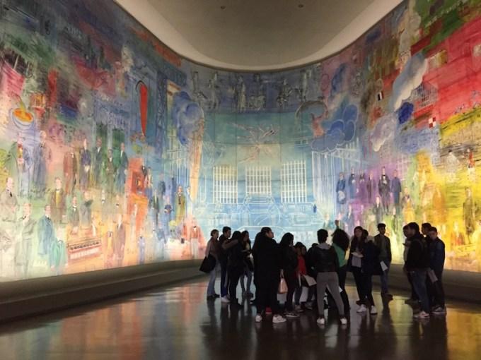 Fée Electricitéde Raoul Dufy au MAM