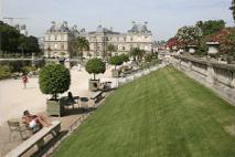 Courir au Jardin du Luxembourg