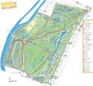 Running au Bois de Boulogne