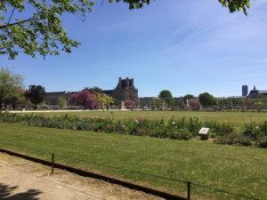Jardin des Tuileries pour courir à Paris