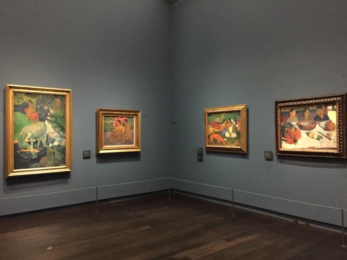 tableaux de Gauguin au Musée d'Orsay