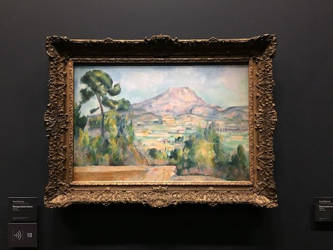 Montagne Sainte-Victoire de Paul Cézanne au Musée d'Orsay