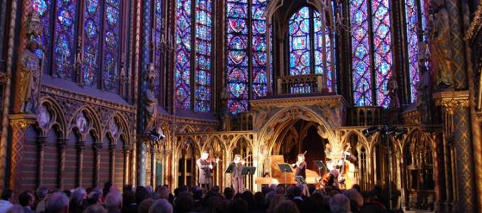 La Sainte Chapelle pendant un Concert