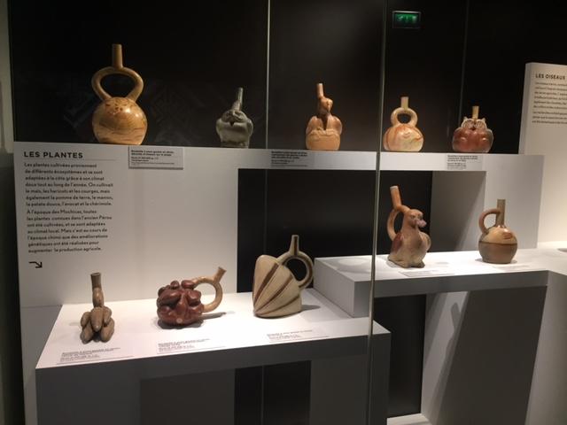 Objet Pérou avant les Incas - Musée du Quai Branly - Paris