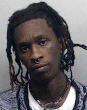 young thug mugshot