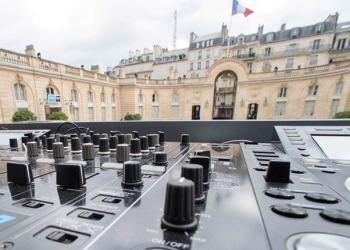 Un concert électro à l'Elysée pour la Fête de la Musique