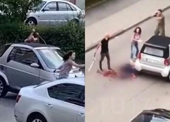 Allemagne: massacré à coups d'épée devant plusieurs témoins (vidéo)
