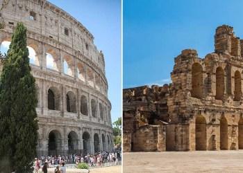 Tunisie: projet de jumelage entre le Colisée de Rome et d'El Jem