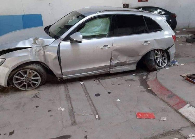 VIDEO. La fille du ministre aurait claqué sa voiture d'une valeur de 270 mille dinars