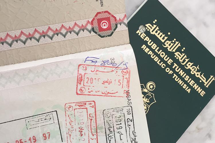 Tunisie: la validité des passeports prolongée de 10 ans