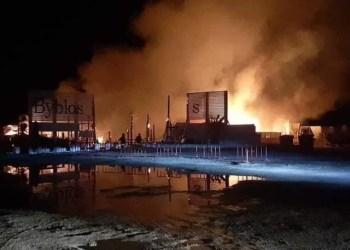 Tunisie : une discothèque à Hammamet ravagée par un incendie (Vidéo)