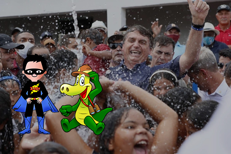 Covid-19 : pour Bolsonaro, le vaccin convertira les gens «en crocodiles»
