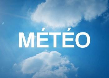 Bulletin Météo : Température en baisse, pluies et temps couvert
