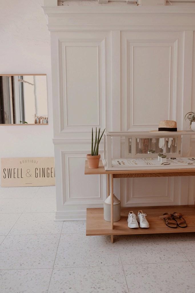 Nouvelle boutique mode Swell & Ginger dans le Vieux Montréal