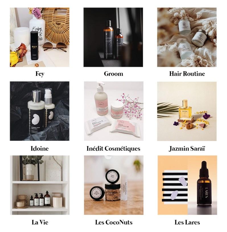 Répertoire de marques québécoises de produits de beauté non-toxiques et naturels.