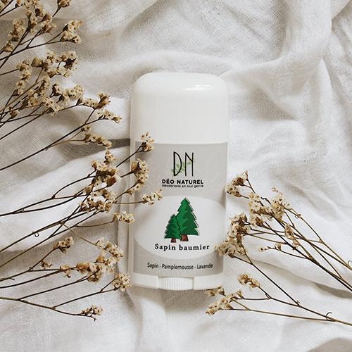 Les 15 meilleurs déodorants naturels: Déo Naturel au Sapin baumier.