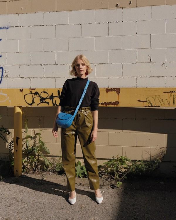 Sac Corsia par la compagnie québécoise de sacs à main éthiques en cuir Wearshop