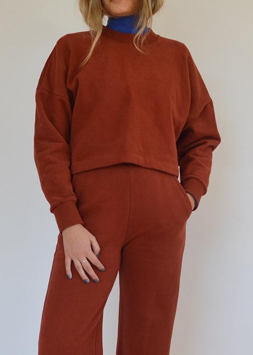 Sweatshirt de Odeyalo fabriqué à Montréal