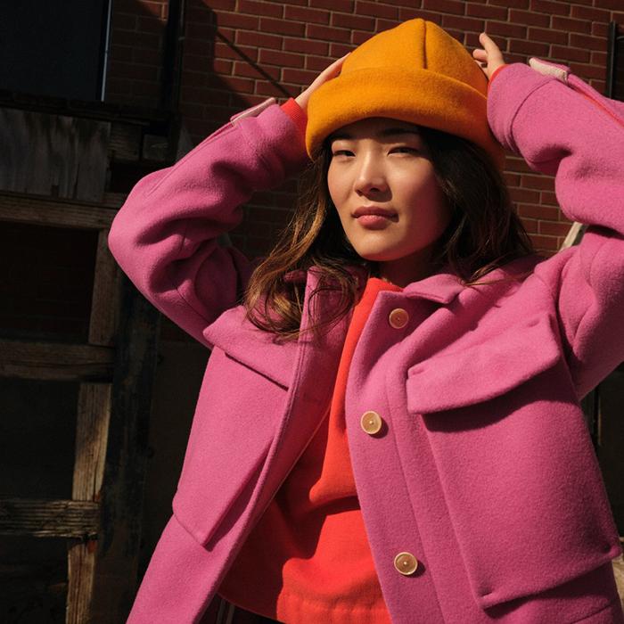 Chapeau Soleil en laine par Odeyalo