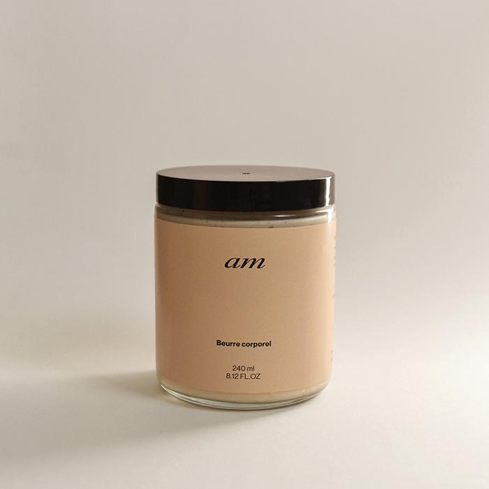 Beurre corporel de la marque montréalaise AM