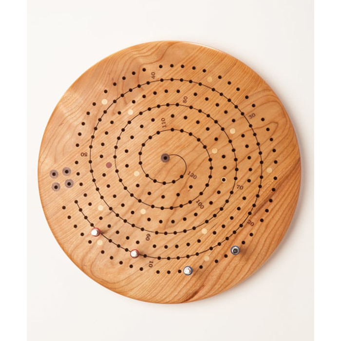 Planche de cribbage fabriquée à la main par Niconico
