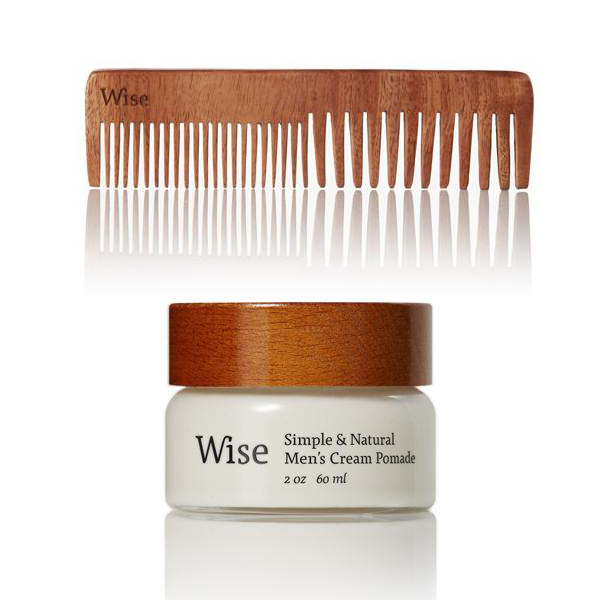 Pommade pour les cheveux et peigne par Wise