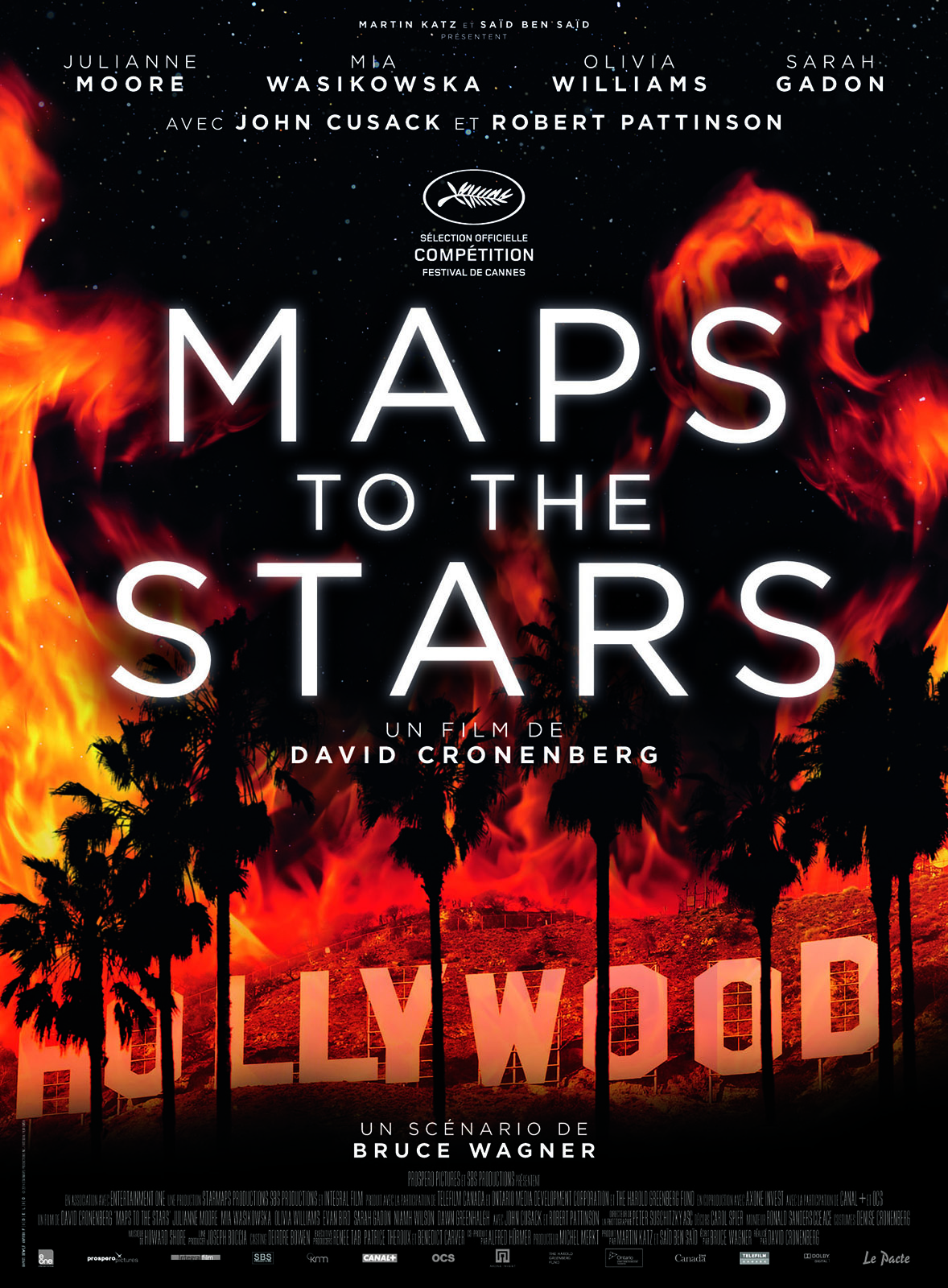 Maps to the stars - Affiche
