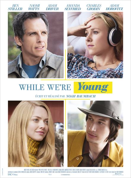While We're Young : Affiche