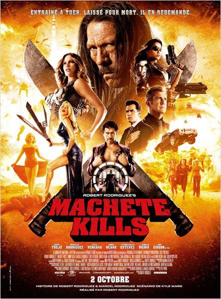 Machete Kills : Affiche