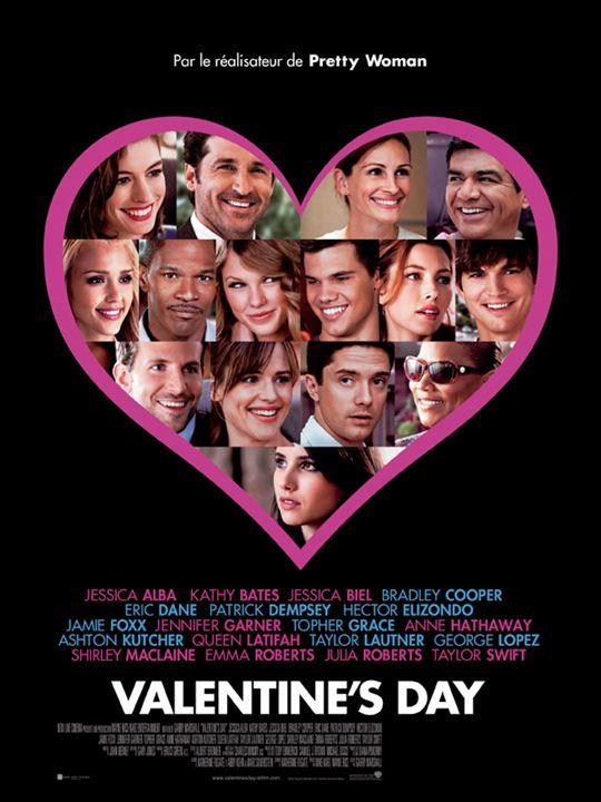 Valentine's Day : affiche Garry Marshall