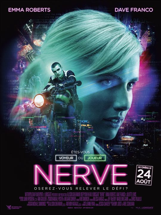 Nerve : Affiche