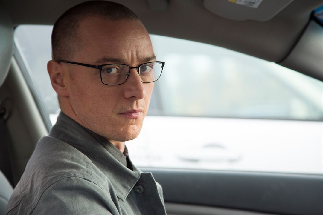 Split : Photo James McAvoy