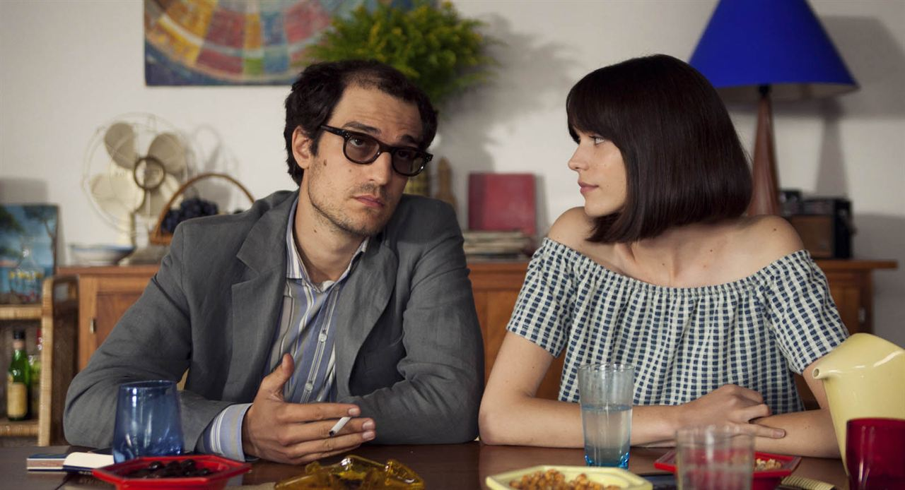 Le Redoutable : Photo Louis Garrel, Stacy Martin