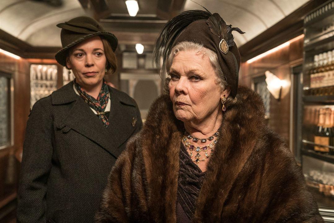 Le Crime de l'Orient-Express : Photo Judi Dench, Olivia Colman