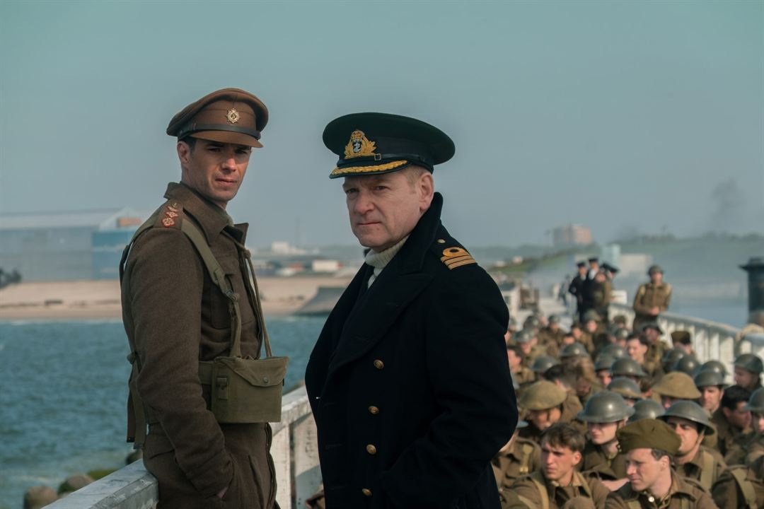 Dunkerque : Photo James d'Arcy, Kenneth Branagh