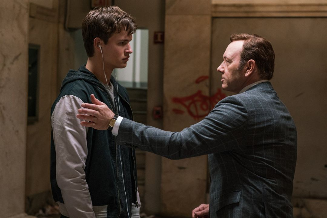 Baby Driver : Photo Ansel Elgort, Kevin Spacey